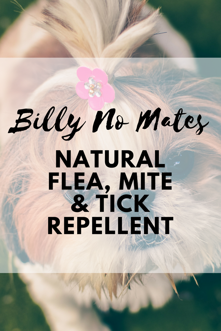 Billy No Mates Natural Flea, Mite And Tick Repellent