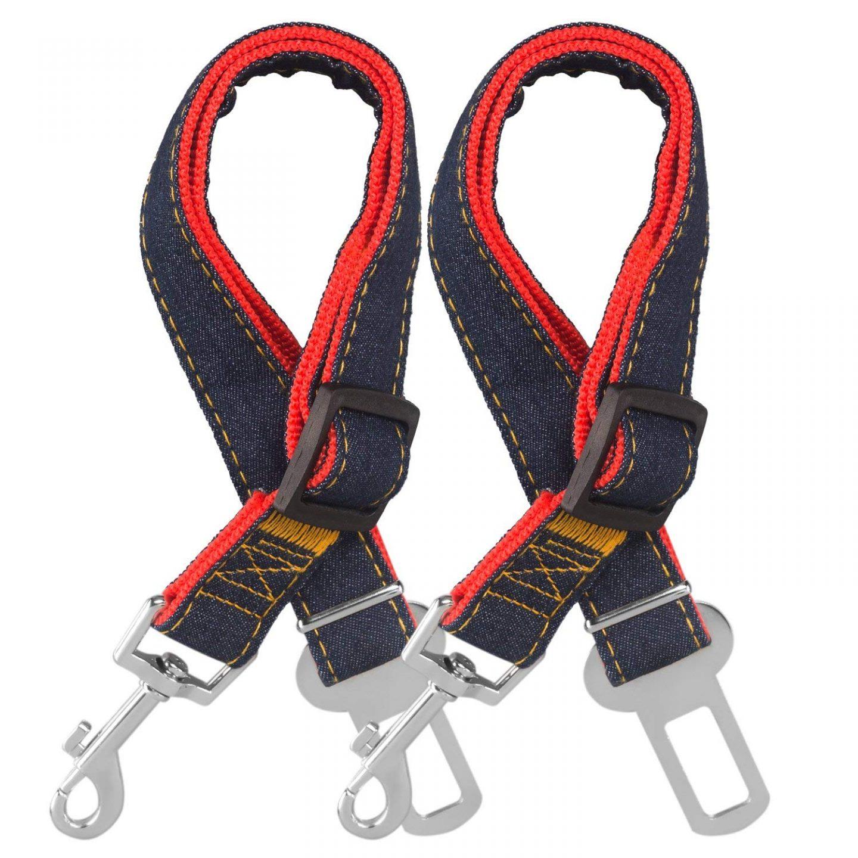 Comsun Dog Seat Belt 2 Pack