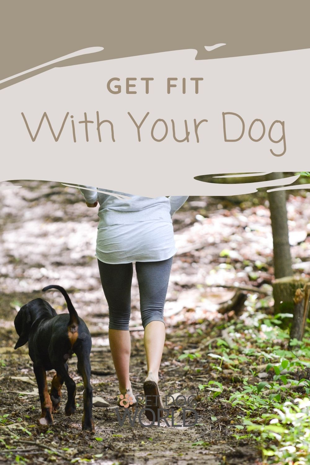 How to get fit with your dog, follow these tips.
