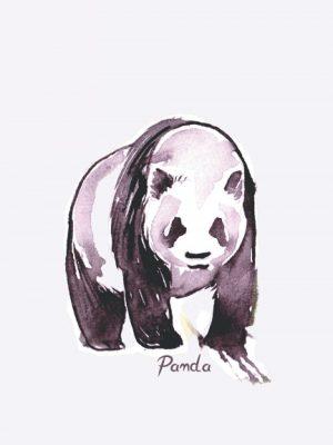 Panda notebook journal