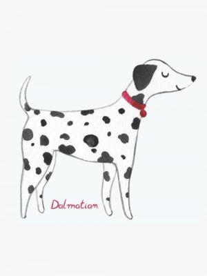 Dalmatian lined notebook